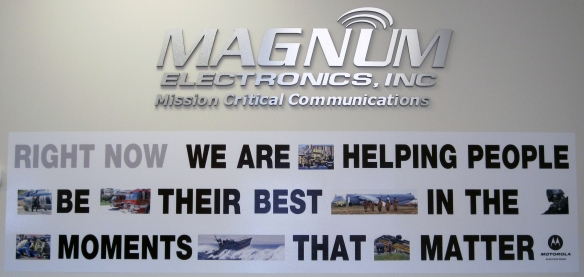 Magnum Electronics Mission Statement