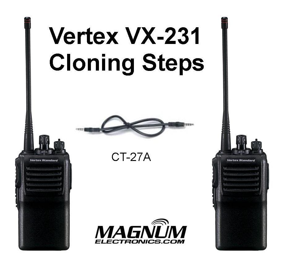 bộ đàm cầm tay Vertex Standard VX 231