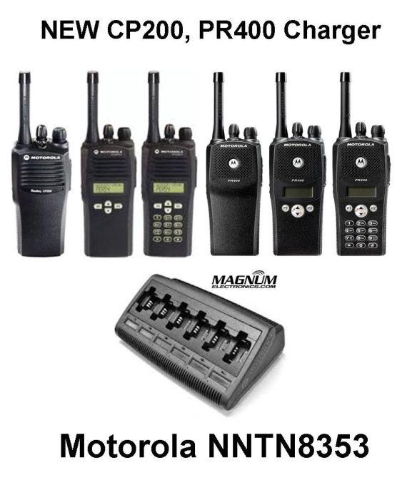 Motorola NNTN8353 CP200, PR400 Charger