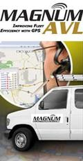 Magnum AVL Logo Truck and Map
