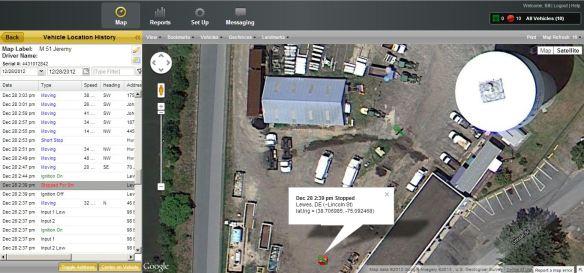 Magnum AVL Satellite View