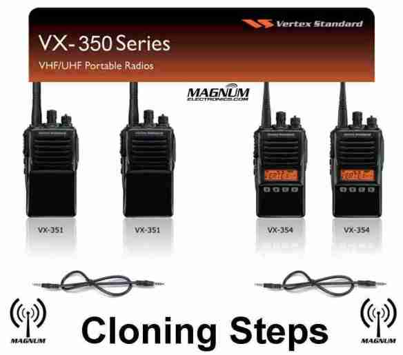 Vertex VX-350 Series Cloning Steps