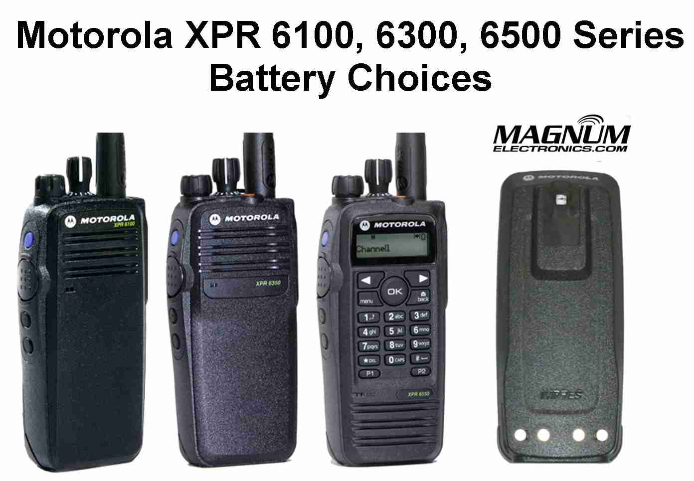 motorola xpr 6550. mototrbo radio battery choices motorola xpr 6550 b