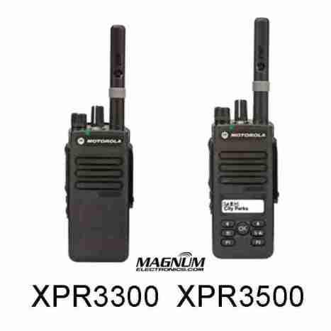 Motorola MOTOTRBO XPR3300, XPR3500