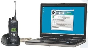 Motorola NNTN7392 IMPRES Reader with Laptop
