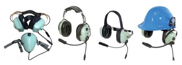 David Clark 6700 Series IS Headset Styles