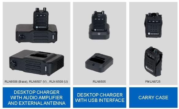 Minitor VI Accessories