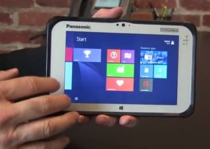 Rugged Windows 4G LTE tablet