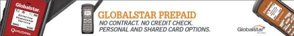 Globalstar Prepaid-Card Banner