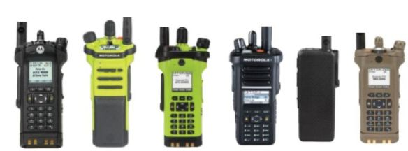 Public-safety P25 Radios with Bluetooth