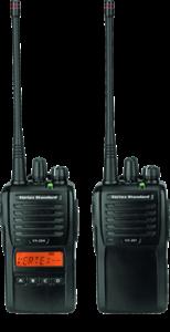VX-261, VX-264 VHF and UHF Analog Radios