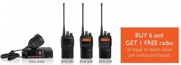 Buy 6 Digital Radios Get 1 Free