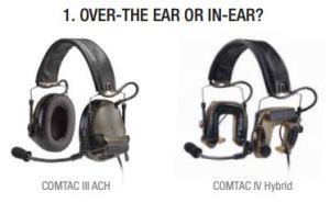 Over the Ear or Earplug