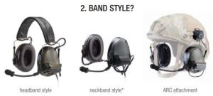 Headband, Neckband, and ARC