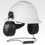 3.5mm Threaded Hardhat Attachment Headset