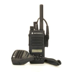 UHF XPR 3500e with Remote Speaker-Mic