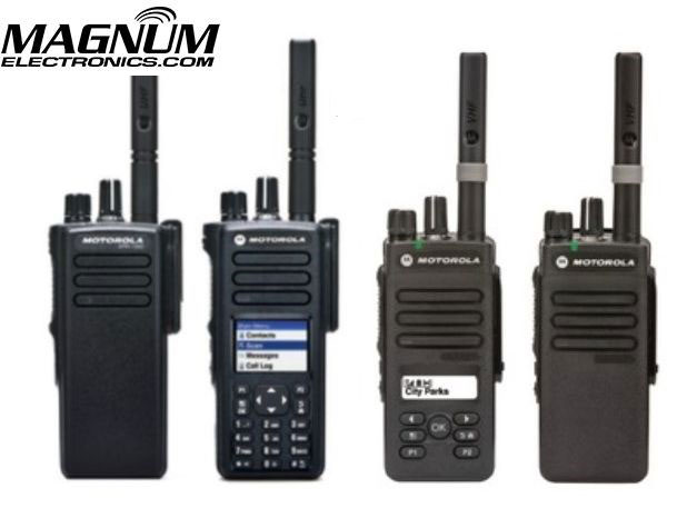 XPR 300e XPR 7000e DMR Radios