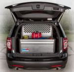 Lightweight Storage Cabinet For Police SUV Upfit