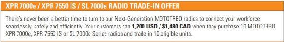 Save $1200 Off 10 Radios