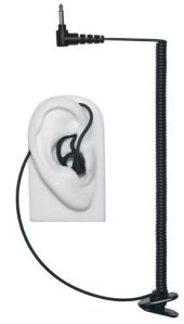 Tubeless Listen-Only Earpiece