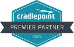 Cradlepoint Premier Partner Badge 2018