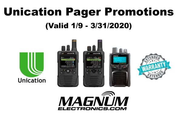 G-Series Voice Pager Instant Savings until 3/31/2020